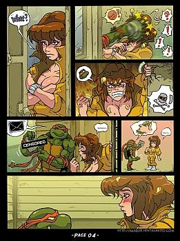 The Slut From Channel Six 3 - Teenage Mutant Ninja Turtles 005 top hentais free