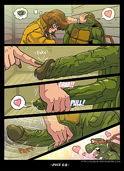 The Slut From Channel Six 3 - Teenage Mutant Ninja Turtles 006 top hentais free