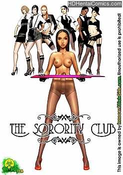 The Sorority Club hentai comics porn