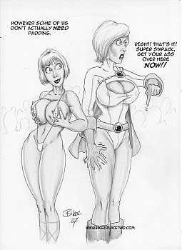 Thong Girl Meets Power Girl 005 top hentais free