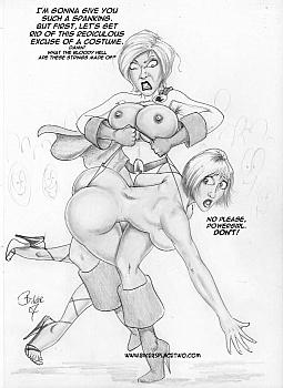 Thong Girl Meets Power Girl 016 top hentais free