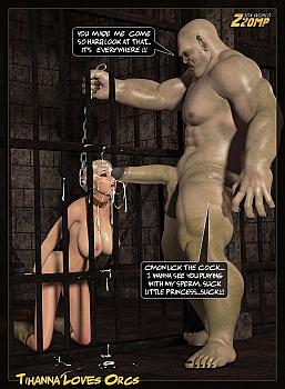 Tihanna Loves Orcs 1 014 top hentais free