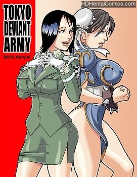 Tokyo Deviant Army – Special free porn comic