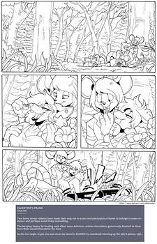 Valentine's Prank hentai comics porn