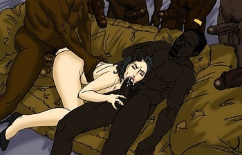 White-Bitch-In-The-Hood008 hentai porn comics