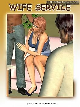 Wife Service hentai comics porn