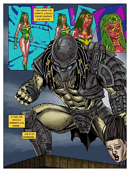Wonder Woman - In The Clutches Of The Predator 1 006 top hentais free