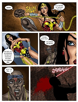 Wonder Woman - In The Clutches Of The Predator 1 011 top hentais free