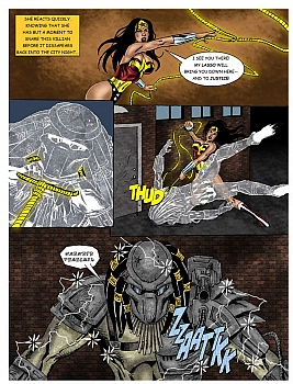 Wonder Woman - In The Clutches Of The Predator 1 013 top hentais free