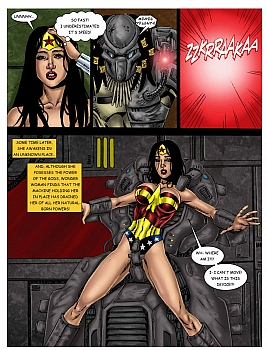 Wonder Woman - In The Clutches Of The Predator 1 015 top hentais free