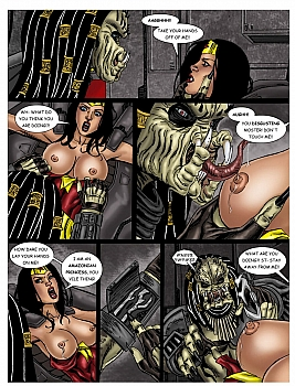 Wonder Woman - In The Clutches Of The Predator 1 017 top hentais free