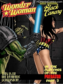 Wonder Woman – In The Clutches Of The Predator 3 hentai comics porn