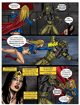 Wonder Woman - In The Clutches Of The Predator 3 023 top hentais free