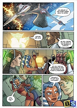 Sex comics star wars